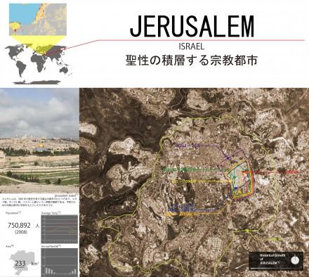 JERUSALEM 聖性の積層する宗教都市