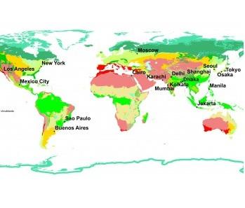 メガシティ18都市 ―気候・地形・生態―