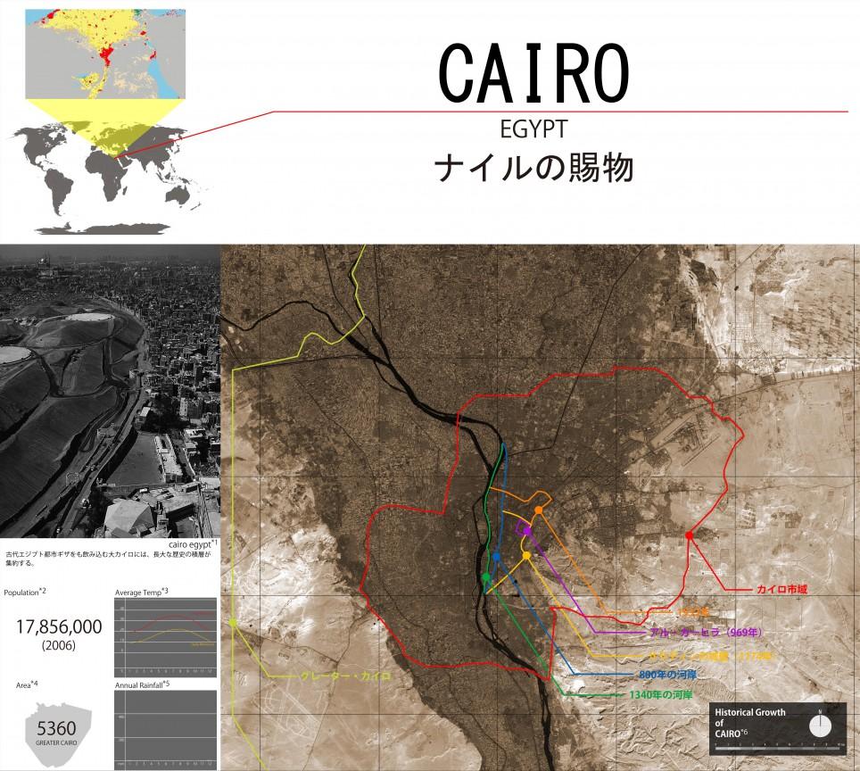 CAIRO ナイルの賜物